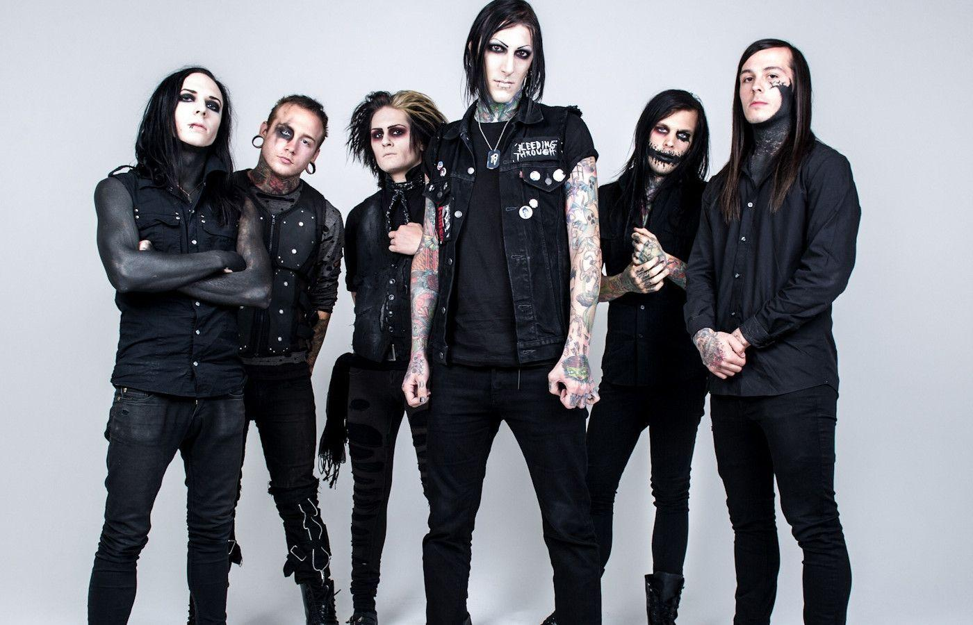 Falling In Reverse Wallpaper 2016 Motionless In White Wallpapers Wallpaper Cave