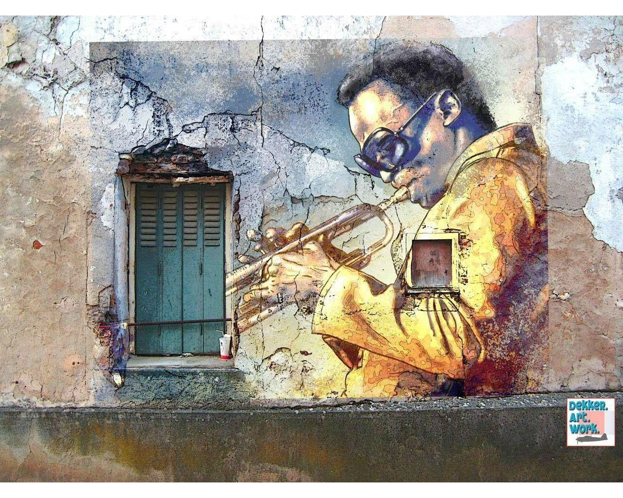 Cool Artwork For Walls Jazz Wallpapers Wallpaper Cave