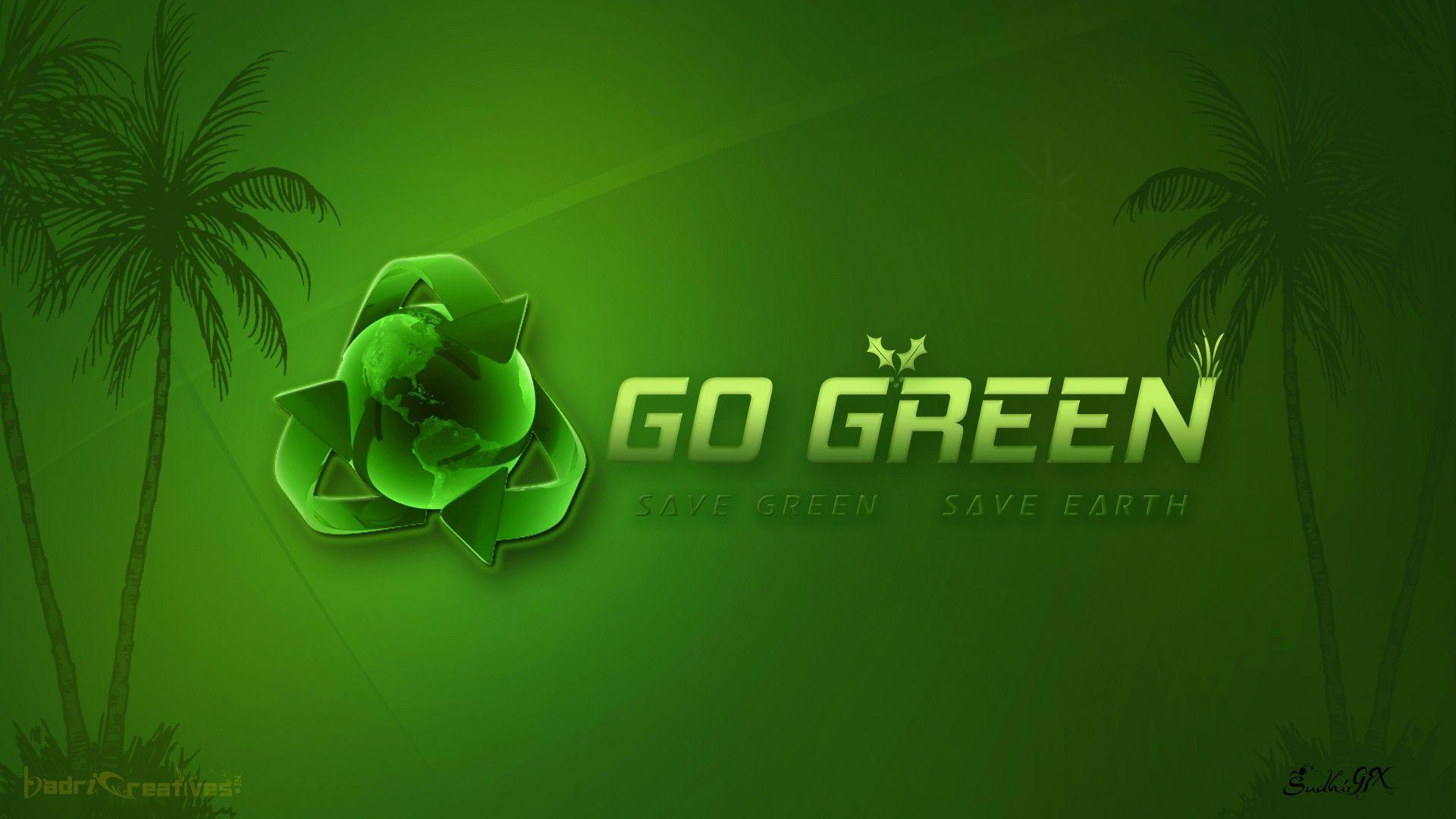 Lord Ganesha Animated Wallpapers Go Green Wallpapers Wallpaper Cave