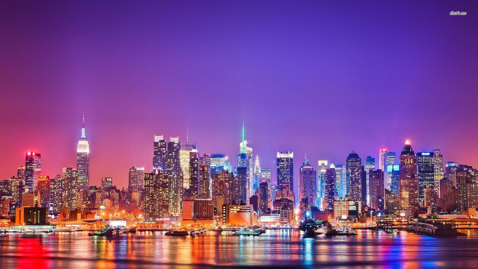 Bild New York Skyline New York Skyline Wallpapers Wallpaper Cave