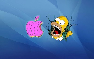 Simpsons Apple Wallpapers - Wallpaper Cave