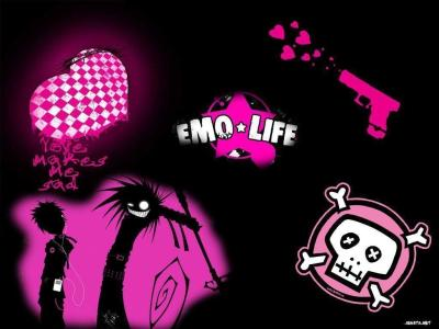 Cool Emo Backgrounds - Wallpaper Cave
