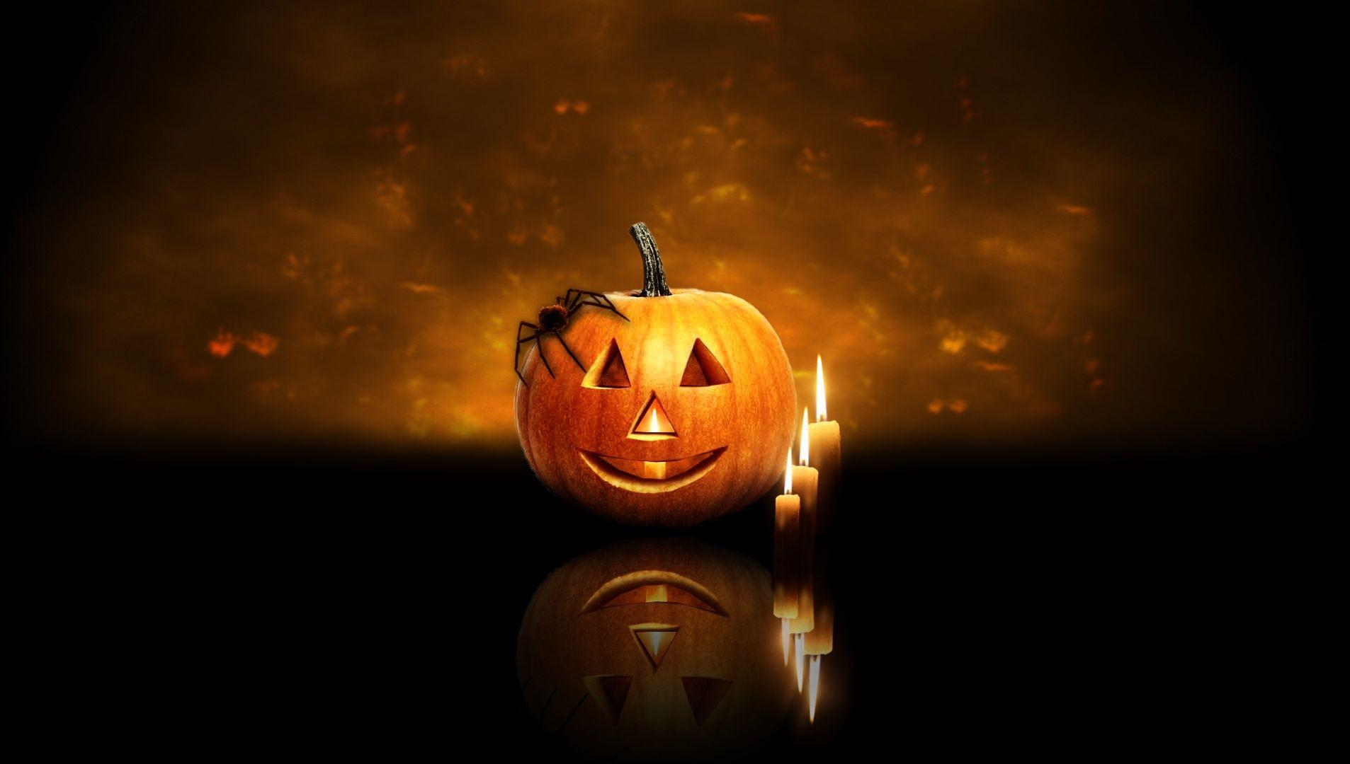 Free Fall Wallpaper Downloads Halloween Pumpkin Backgrounds Wallpaper Cave