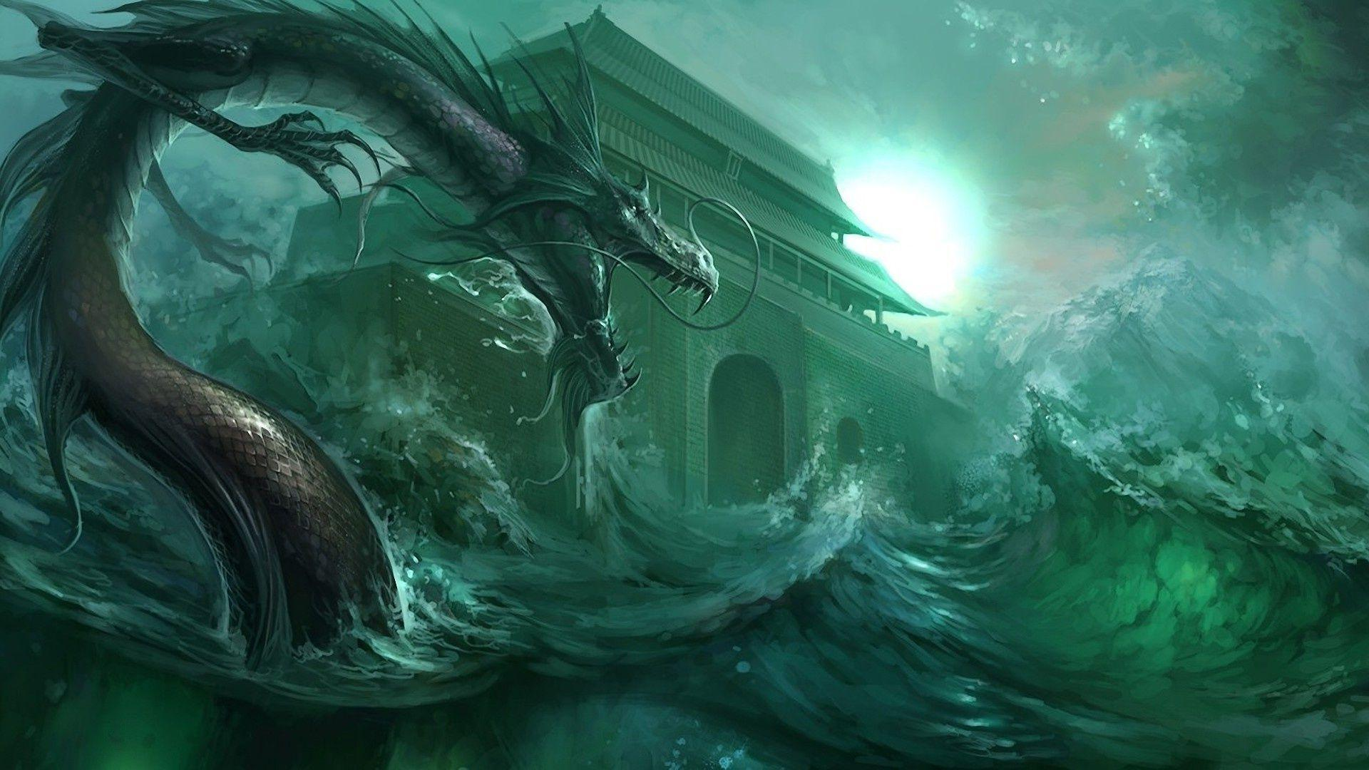 Gallery for gt water dragon wallpaper hd