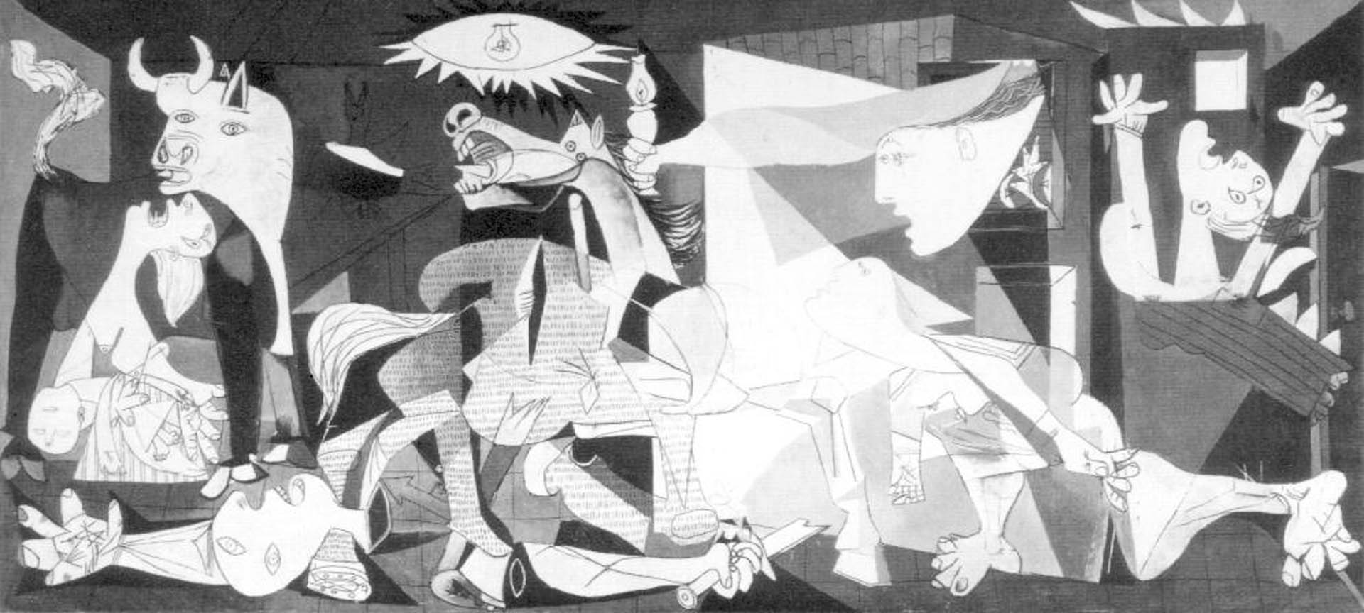 Cuadro De Gernika Guernica Wallpapers Wallpaper Cave