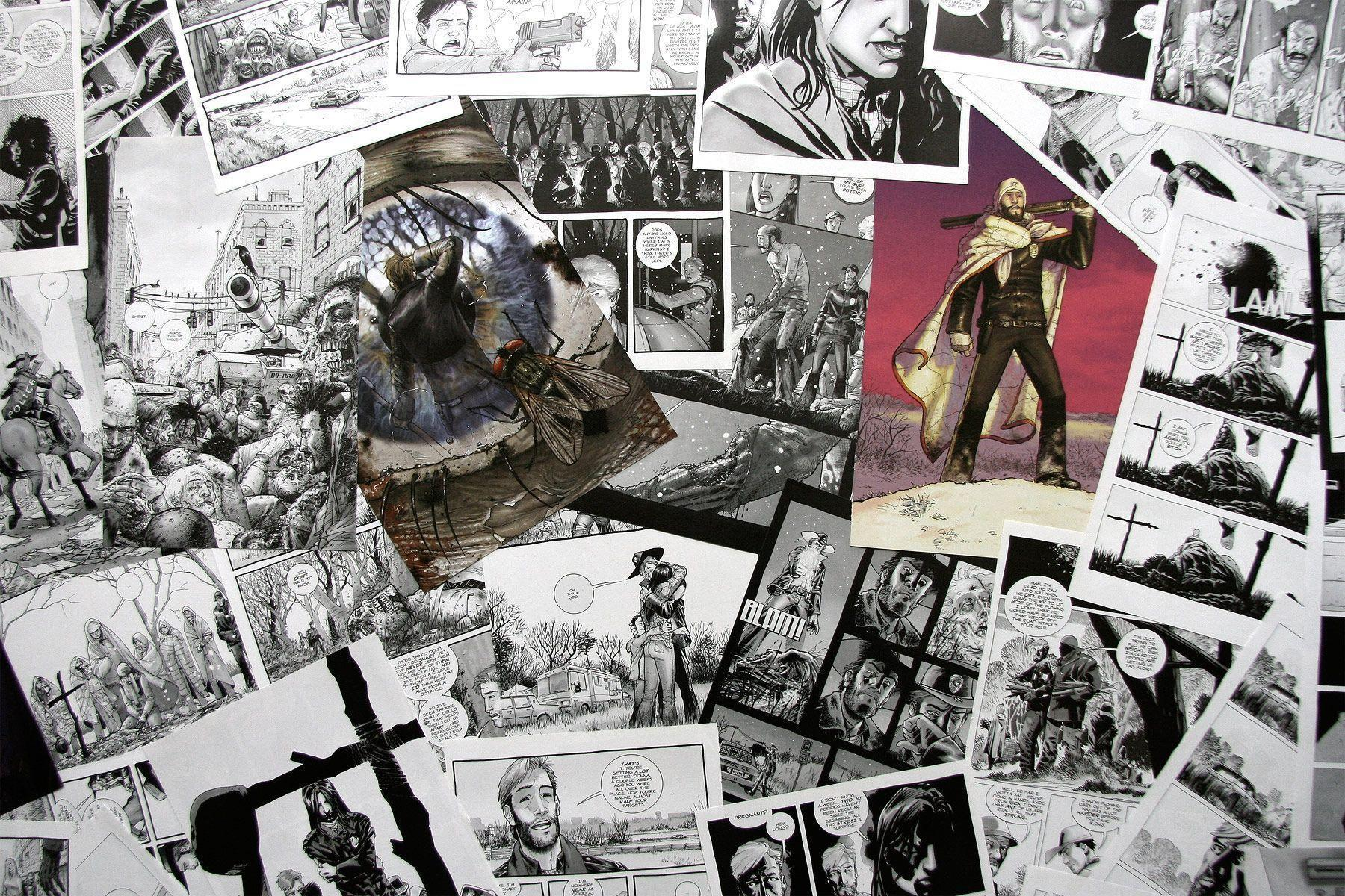 the walking dead comic online free
