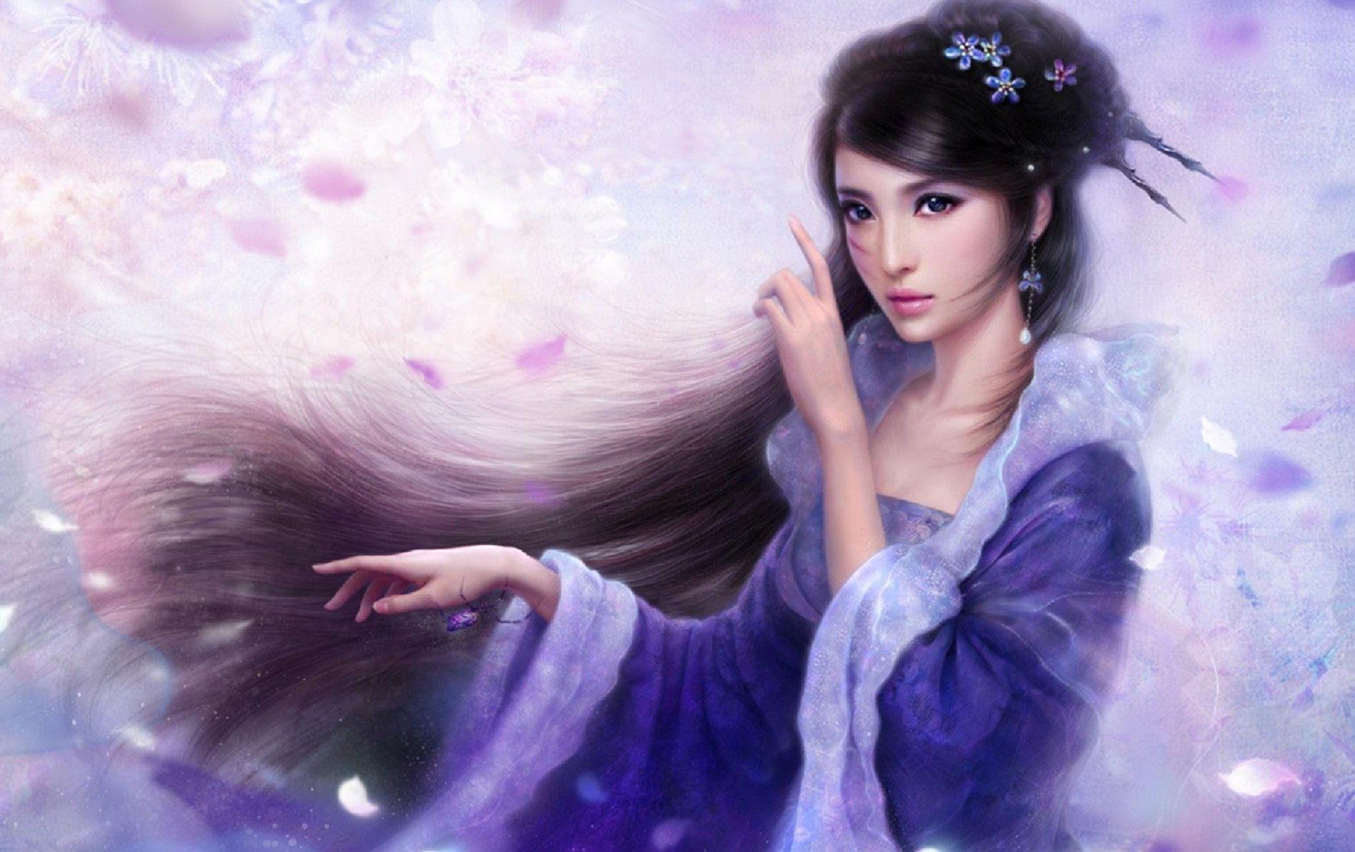 Chinese Beautiful Girl Wallpaper Awesome Fantasy Princess Wallpapers Wallpaper Cave
