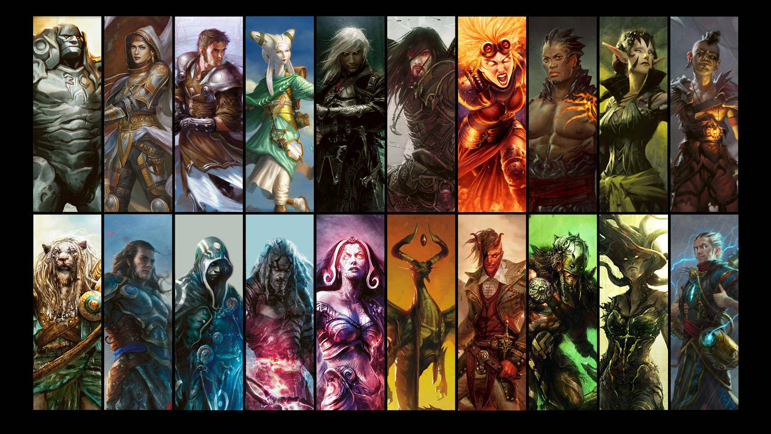Libros De Magic The Gathering Planeswalker Wallpapers Wallpaper Cave