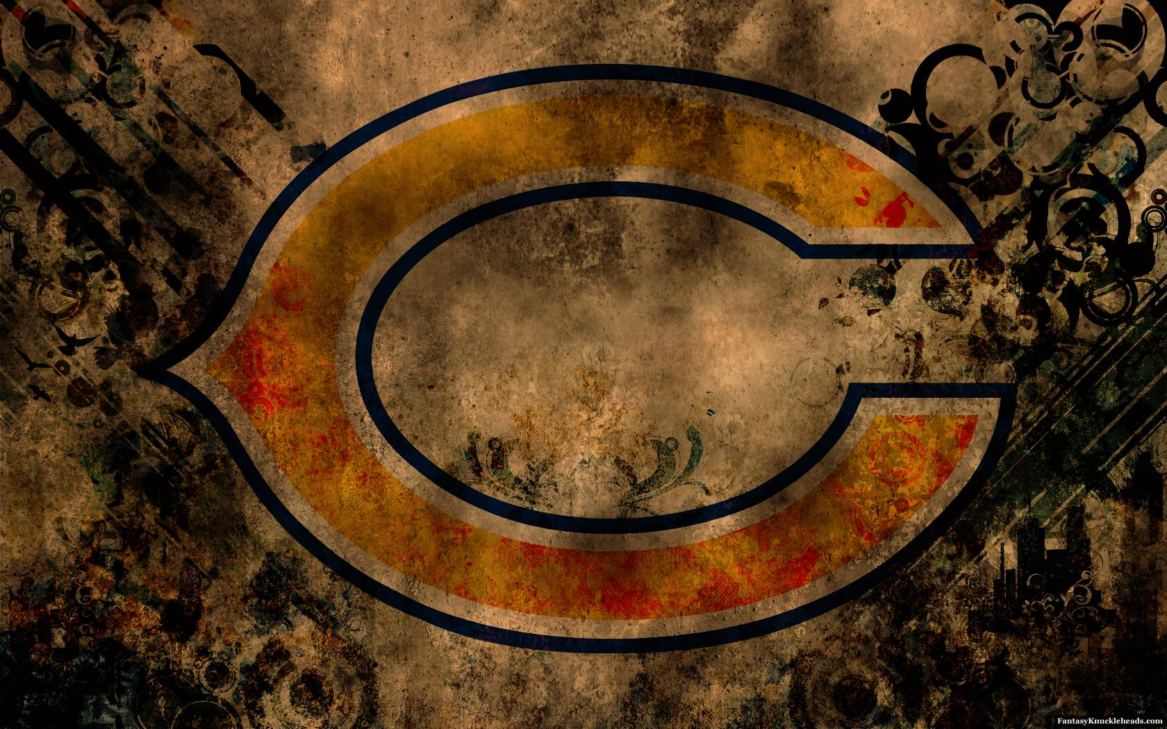 Chicago Bears Hd Wallpaper Chicago Bears Wallpapers Wallpaper Cave