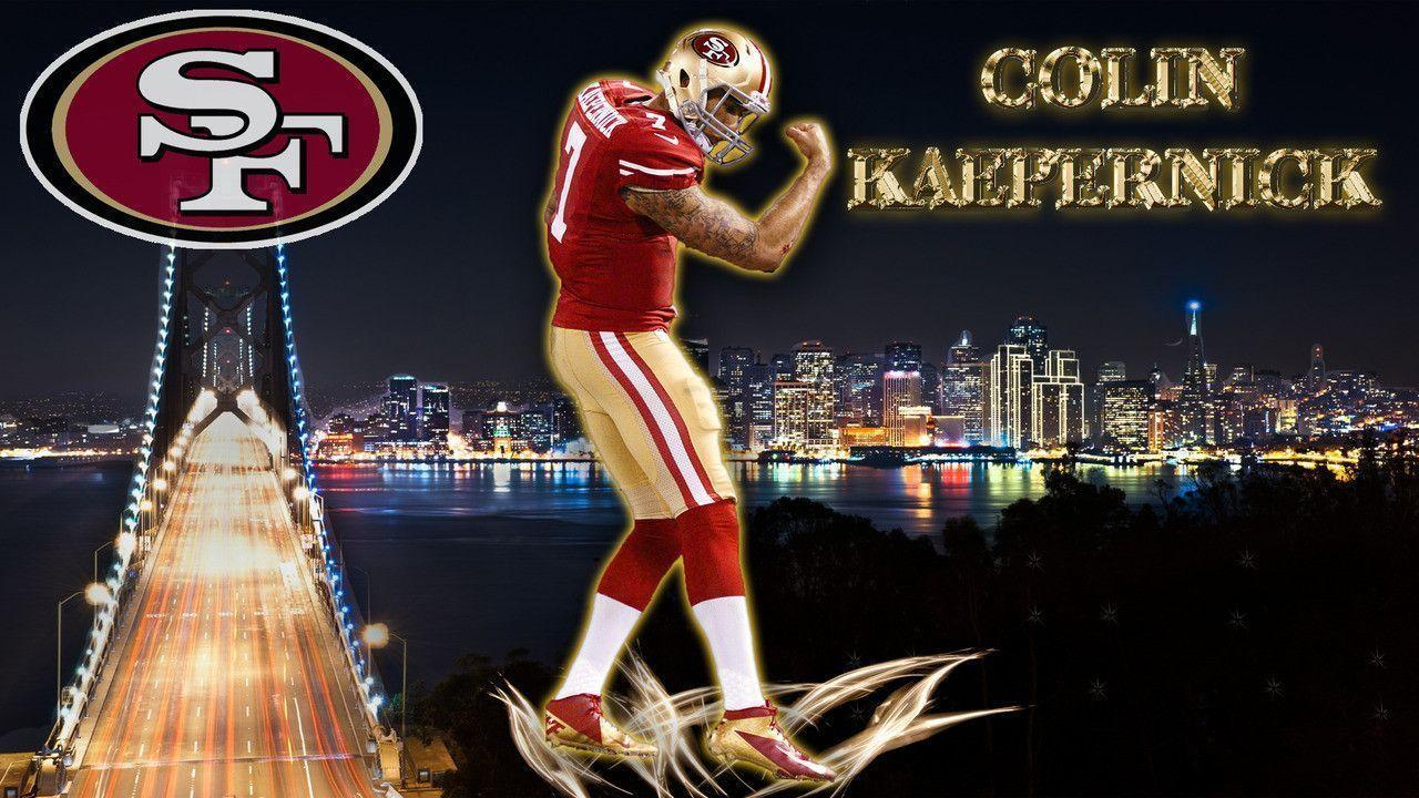 San Francisco 49ers Wallpaper Iphone Colin Kaepernick 49ers Wallpapers Wallpaper Cave