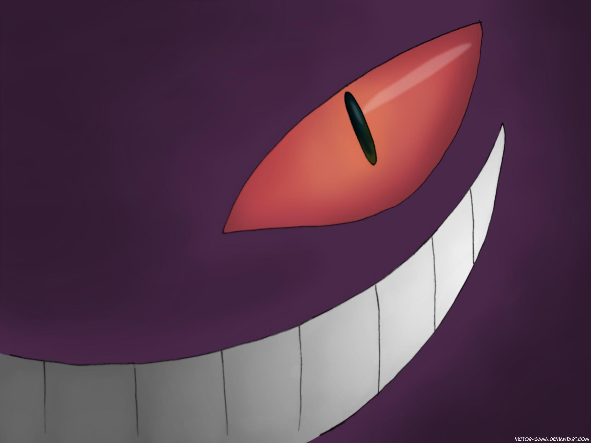 Awesome Cute Wallpapers For Android Gengar Wallpapers Wallpaper Cave