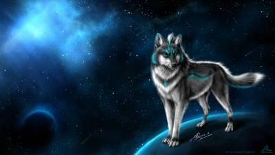 Fantasy Wolf Wallpapers - Wallpaper Cave