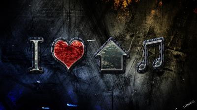 I Love House Music Wallpapers - Wallpaper Cave