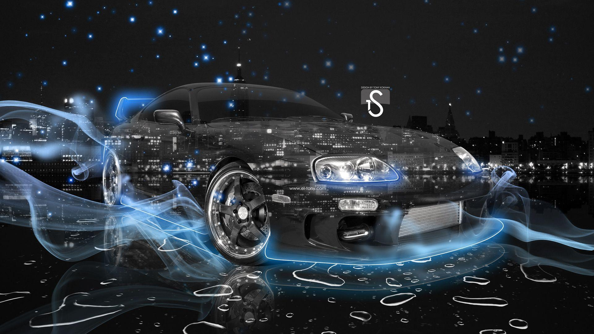 Amazing Car Wallpapers For Desktop Nissa Skyline R34 Gtr Toyota Supra Wallpapers Wallpaper Cave