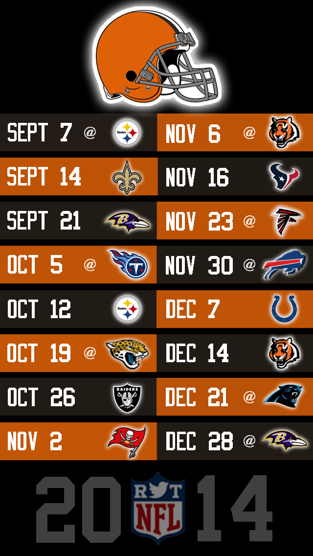 Steelers Iphone Wallpaper Cleveland Browns Schedule 2016 Wallpapers Wallpaper Cave