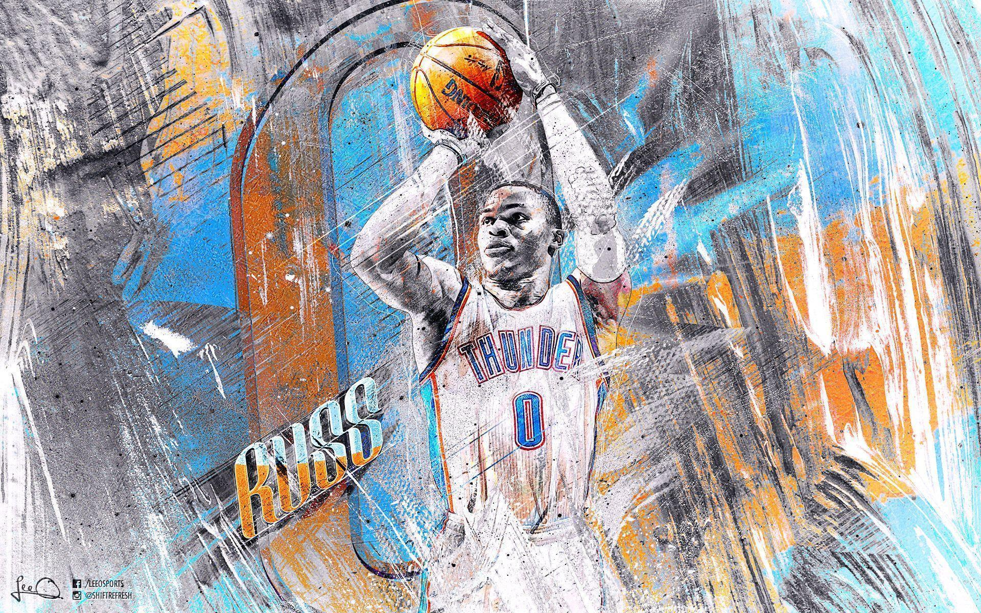 Lakers 3d Logo Wallpaper Kevin Durant And Russell Westbrook Wallpapers 2016