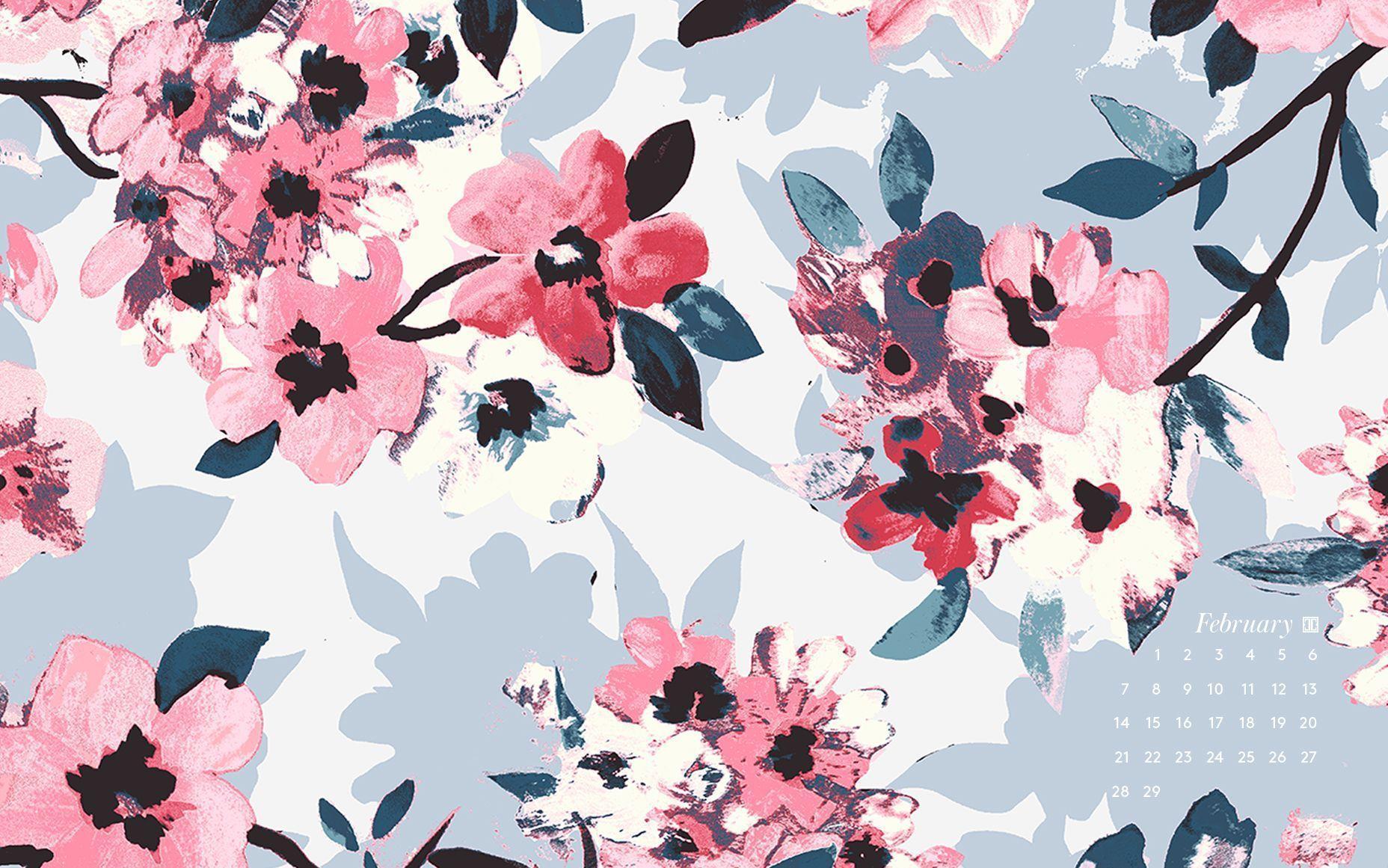 Iphone Collage Wallpaper Maker Desktop Wallpapers Calendar February 2016 Wallpaper Cave