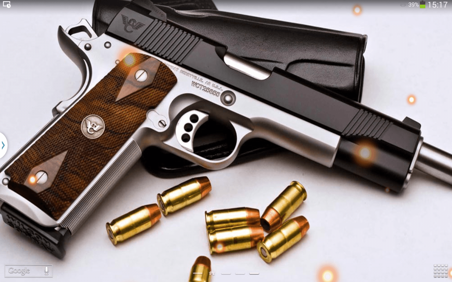 Guns live wallpaper android apps on google play