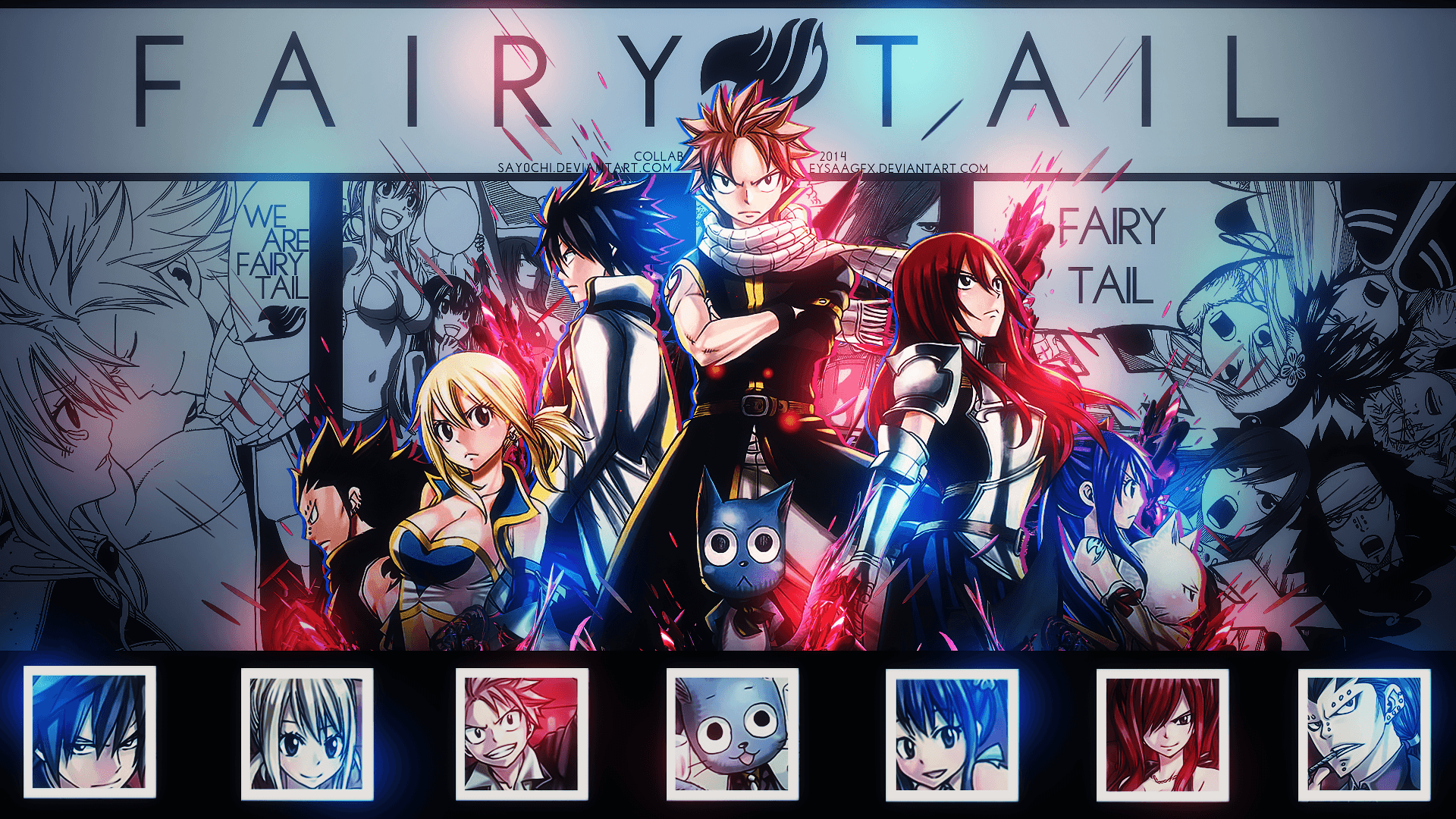Fairy Tail Wallpaper Hd Fairy Tail 2016 Wallpapers Wallpaper Cave