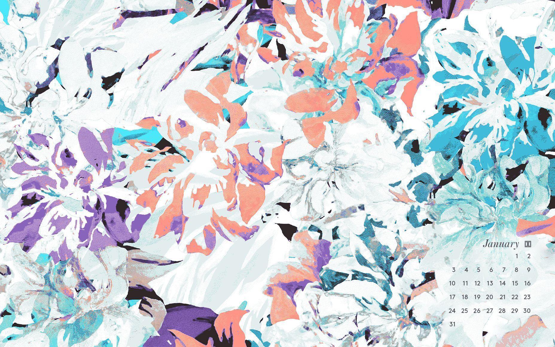 Cute Cactus Wallpaper Macbook Desktop Wallpapers Calendar January 2016 Wallpaper Cave