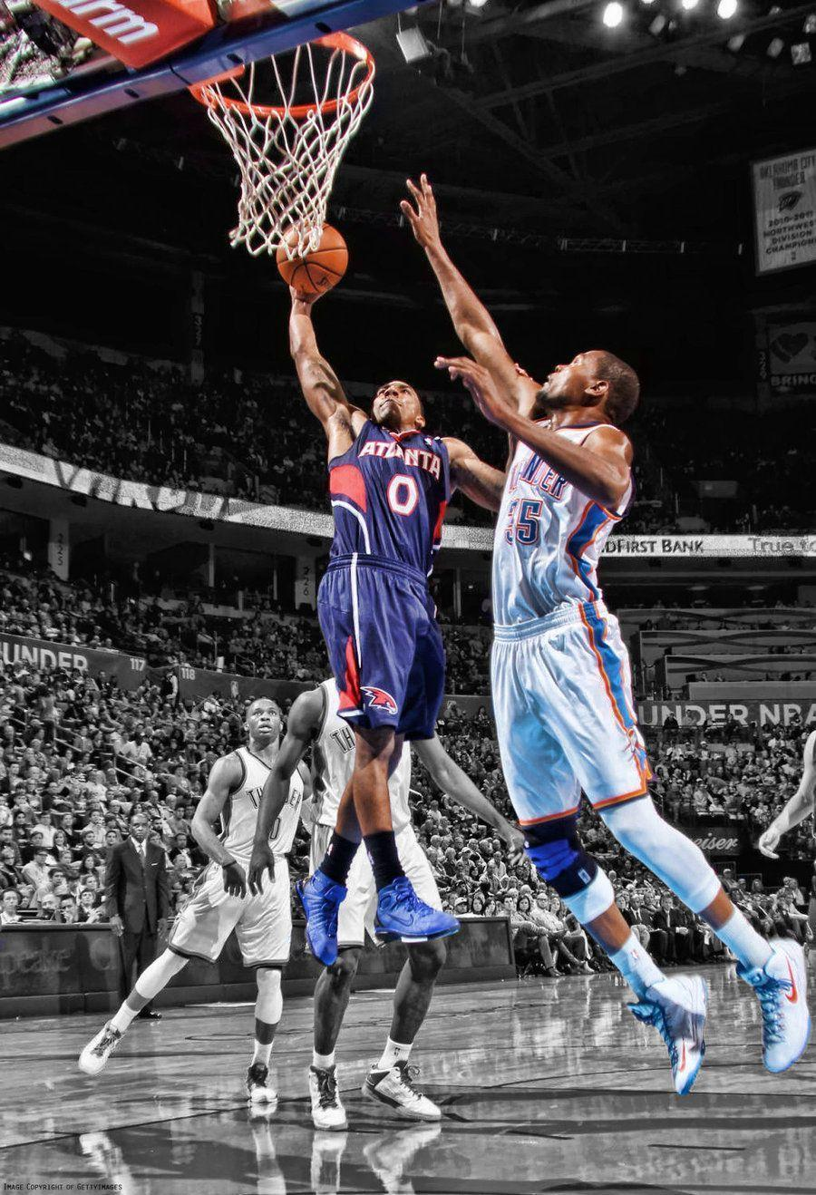 Nba Players Iphone Wallpaper Kevin Durant Dunk Wallpapers 2016 Wallpaper Cave