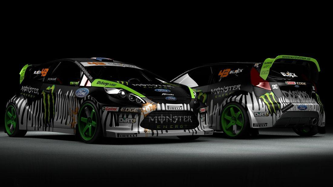 Wallpaper Mobil Sport Hd Ken Block Ford Fiesta 2016 Wallpapers Wallpaper Cave
