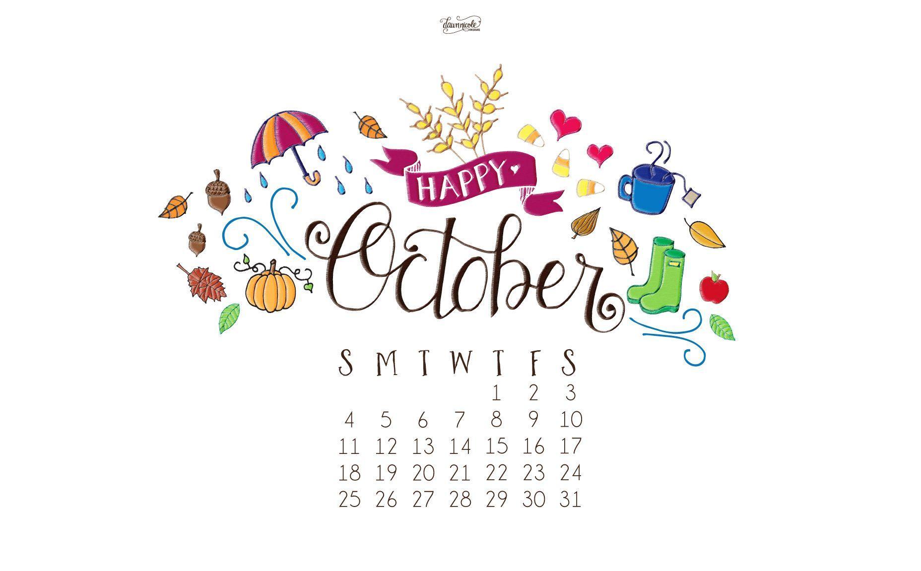 Lauren Conrad Fall Wallpaper Desktop Wallpapers Calendar October 2016 Wallpaper Cave