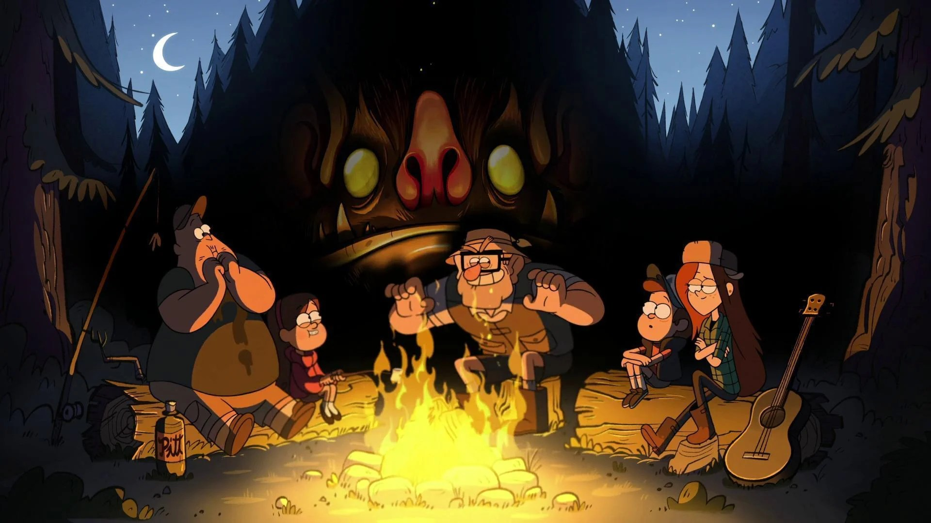 Gravity Falls Desktop Wallpaper Hd Gravity Falls Wallpapers Wallpaper Cave