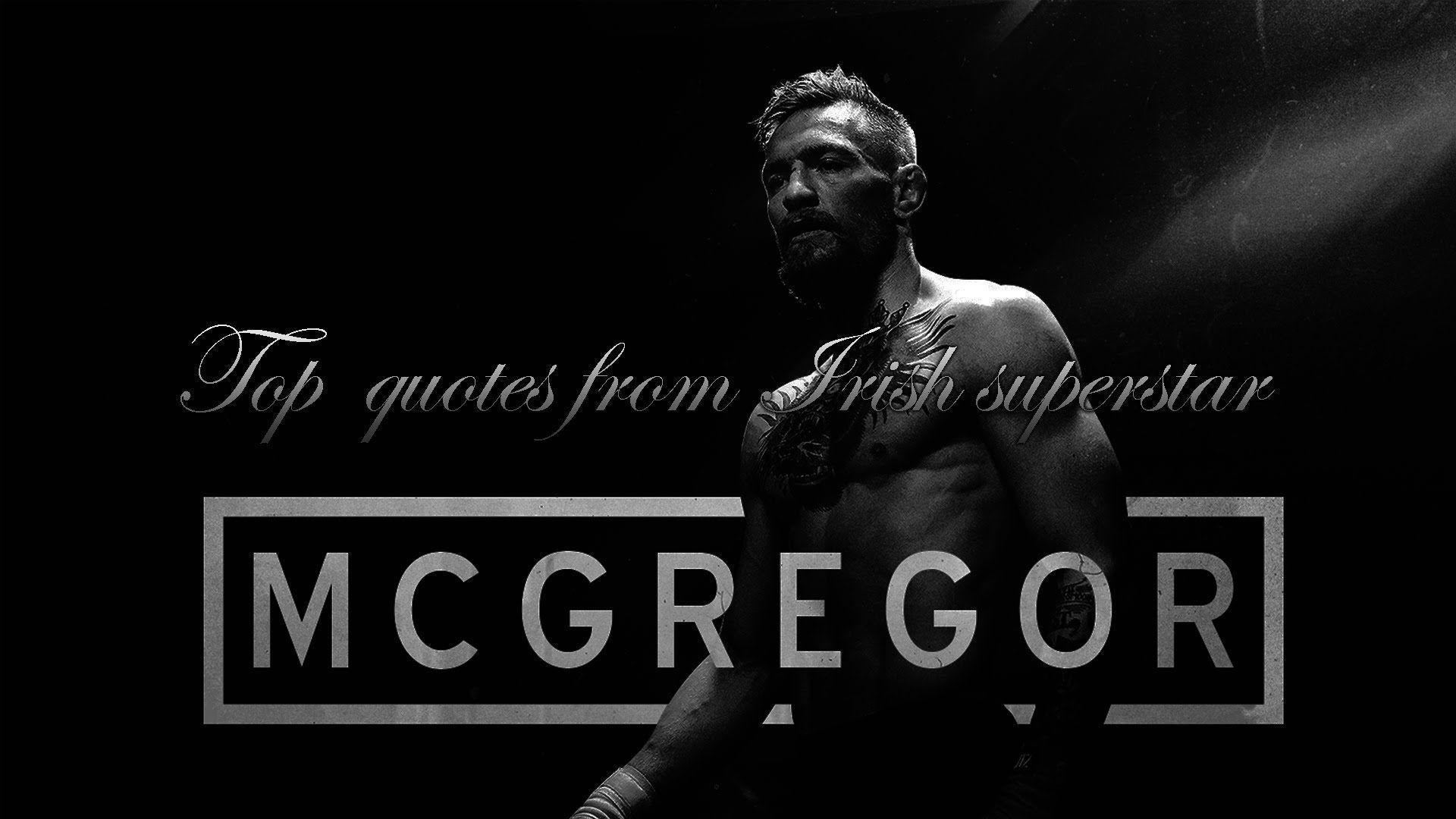 Connor Mcgregor Quote Wallpaper Conor Mcgregor Wallpapers Wallpaper Cave
