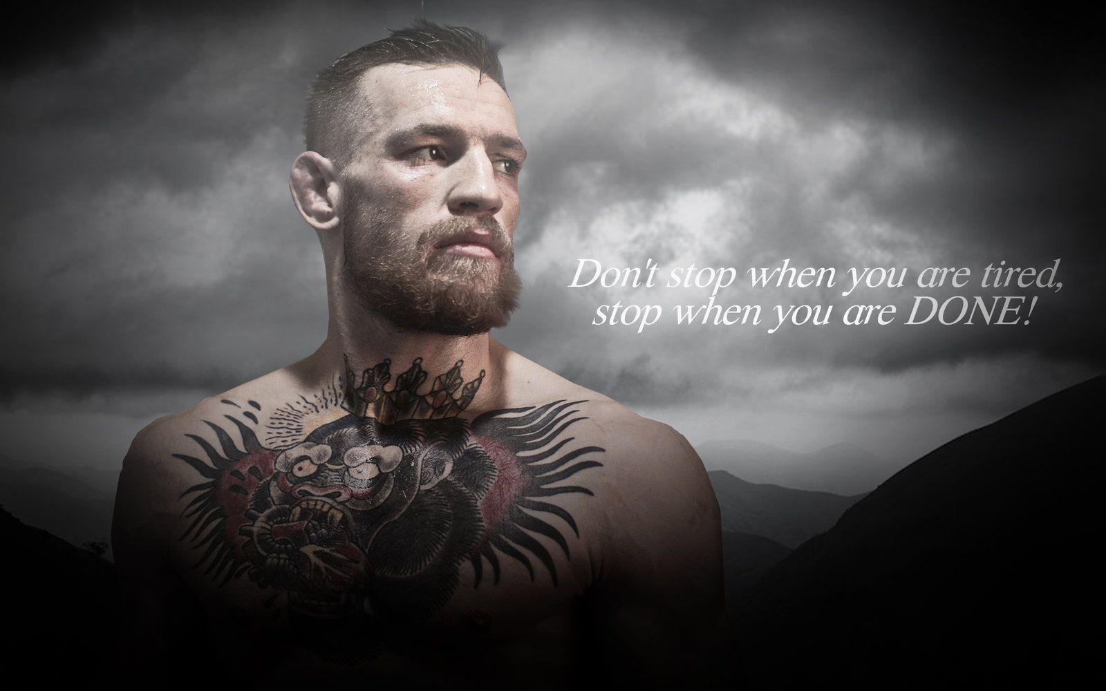 Inspirational Quote Wallpaper For Computer Conor Mcgregor Wallpapers Wallpaper Cave
