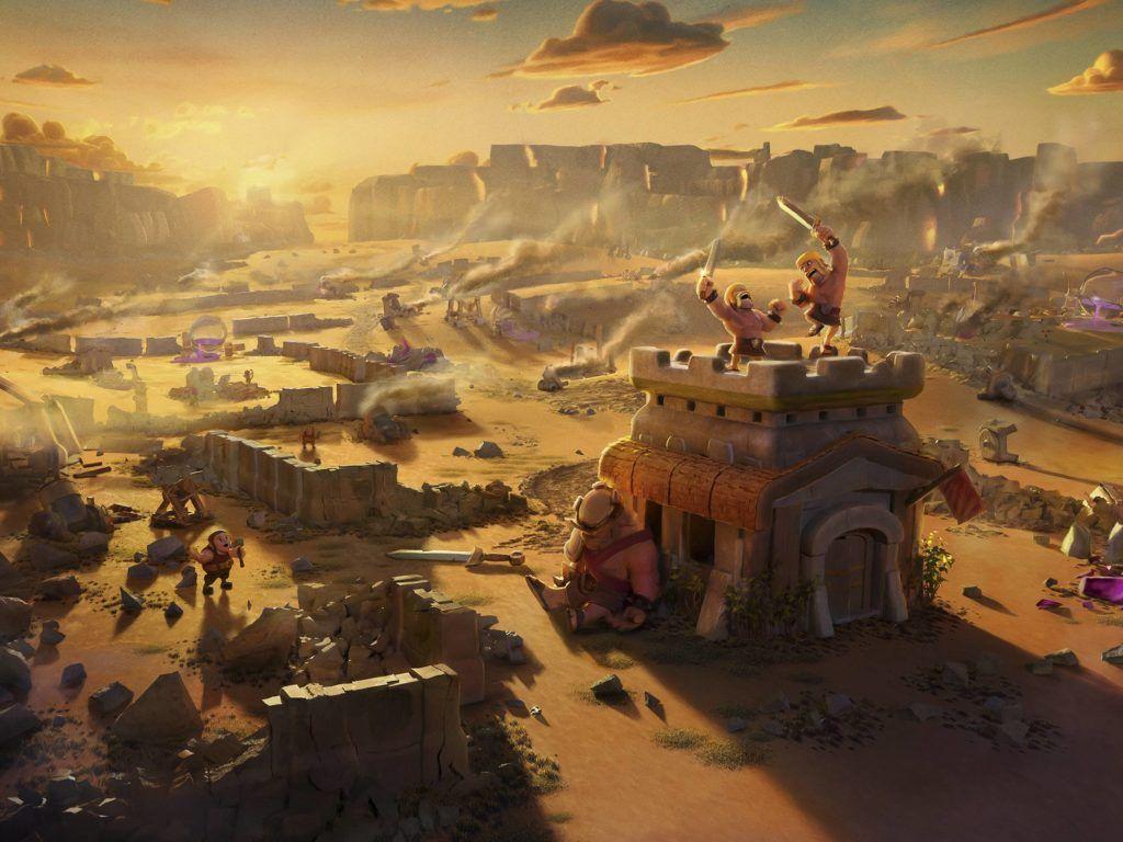 Wallpaper Clash Of Clans 3d Clash Royale Wallpapers Wallpaper Cave