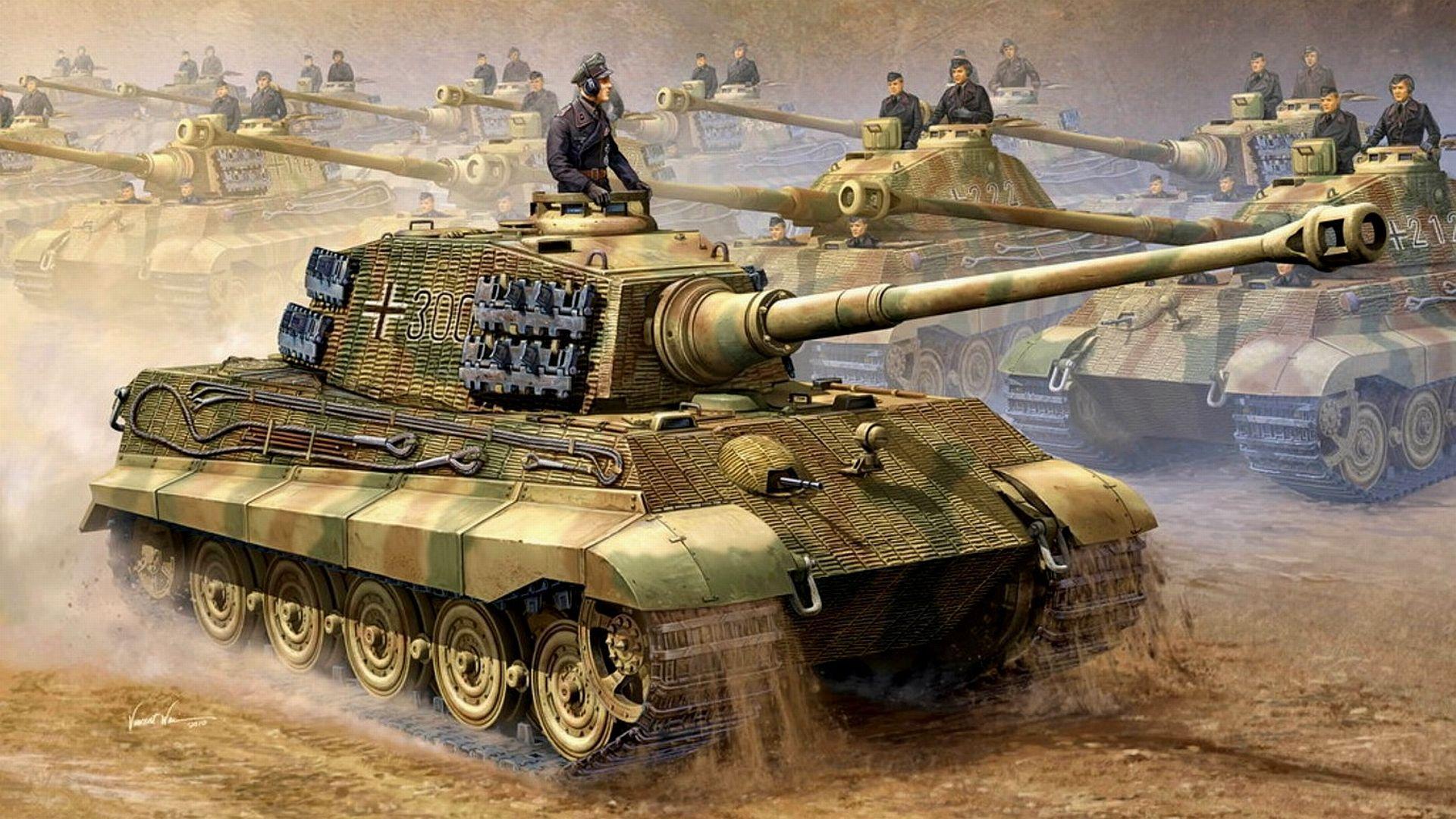 Tiger Tank Wallpapers Wallpaper Cave