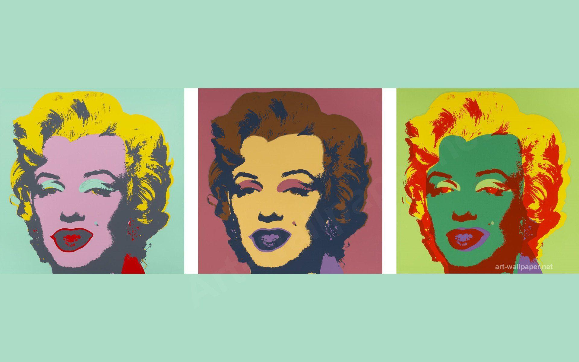 Marilyn Pop Art Andy Warhol Pop Art Wallpapers Wallpaper Cave