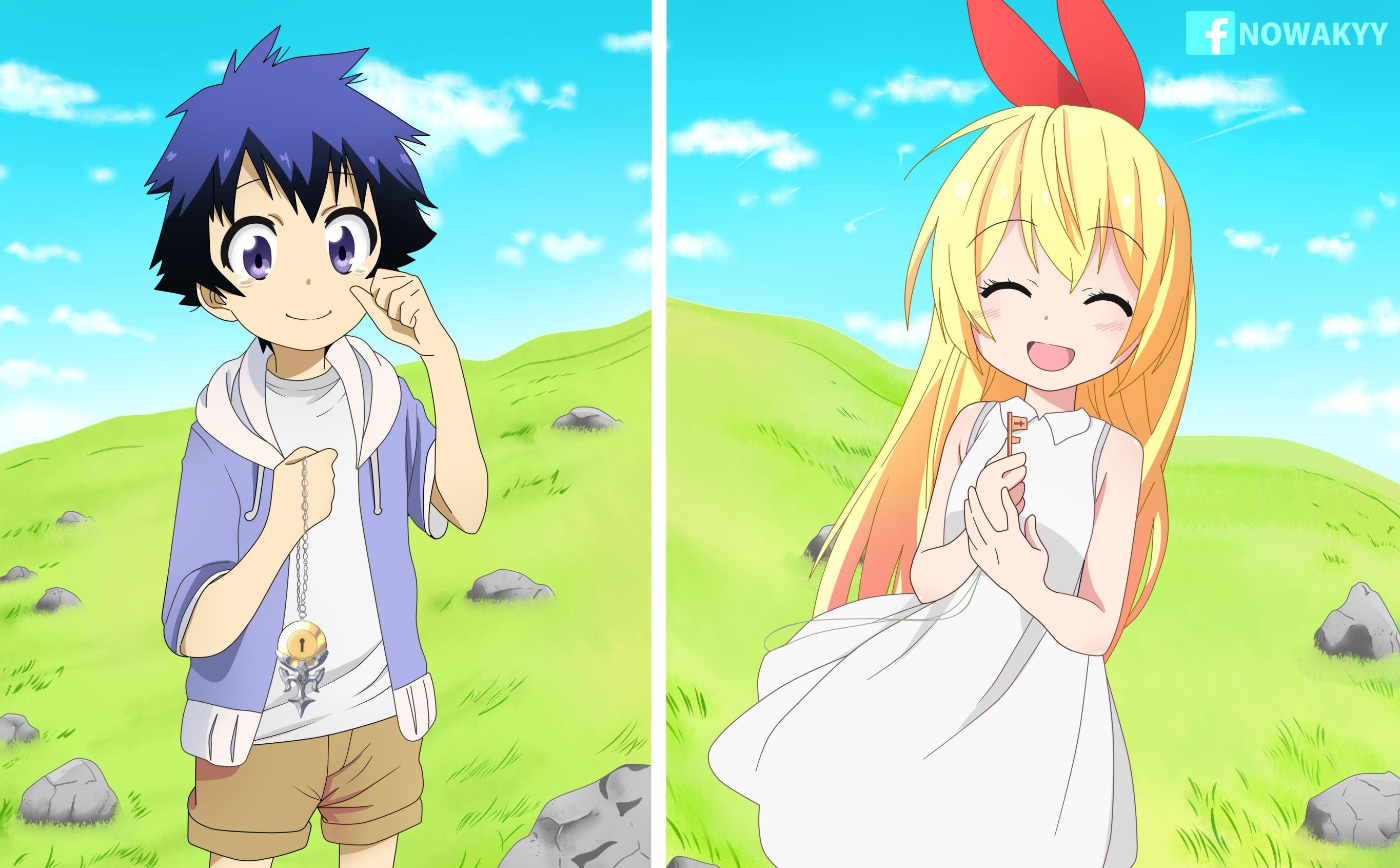 Cute Child Couple Wallpaper Hd Nisekoi Wallpapers Wallpaper Cave