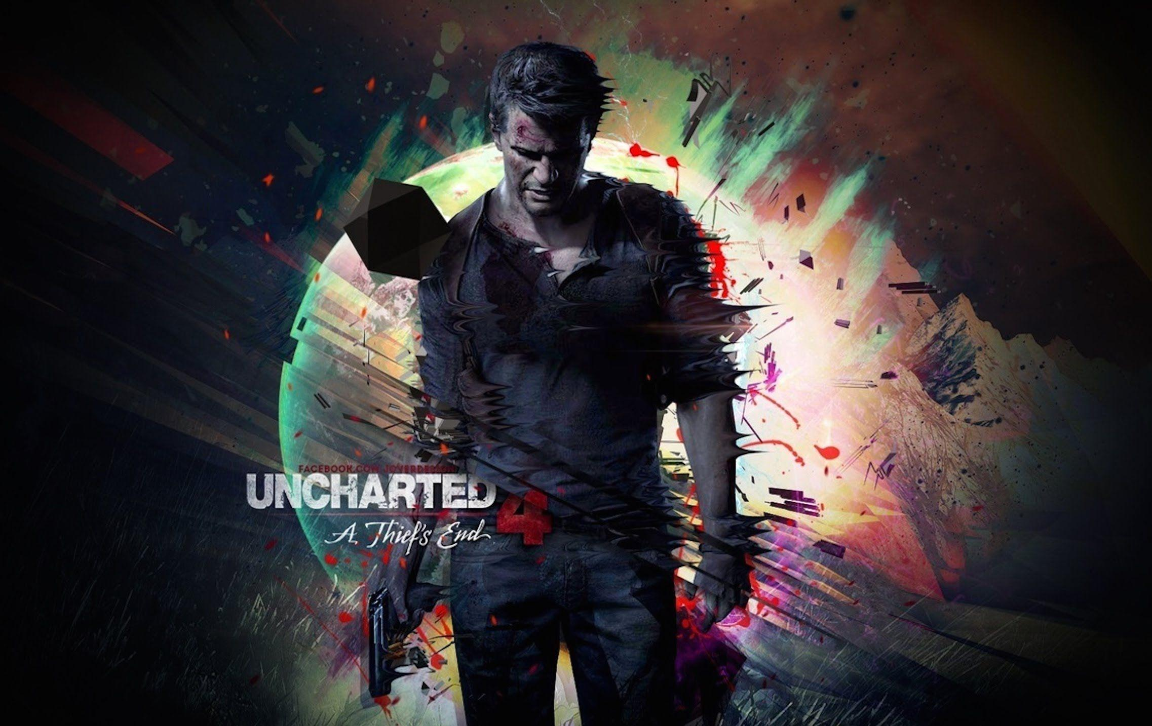 Nathan Drake Iphone Wallpaper Uncharted 4 Wallpapers Wallpaper Cave