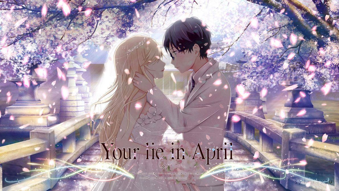 Anime Girl Studying Wallpaper Your Lie In April Wallpapers Wallpaper Cave