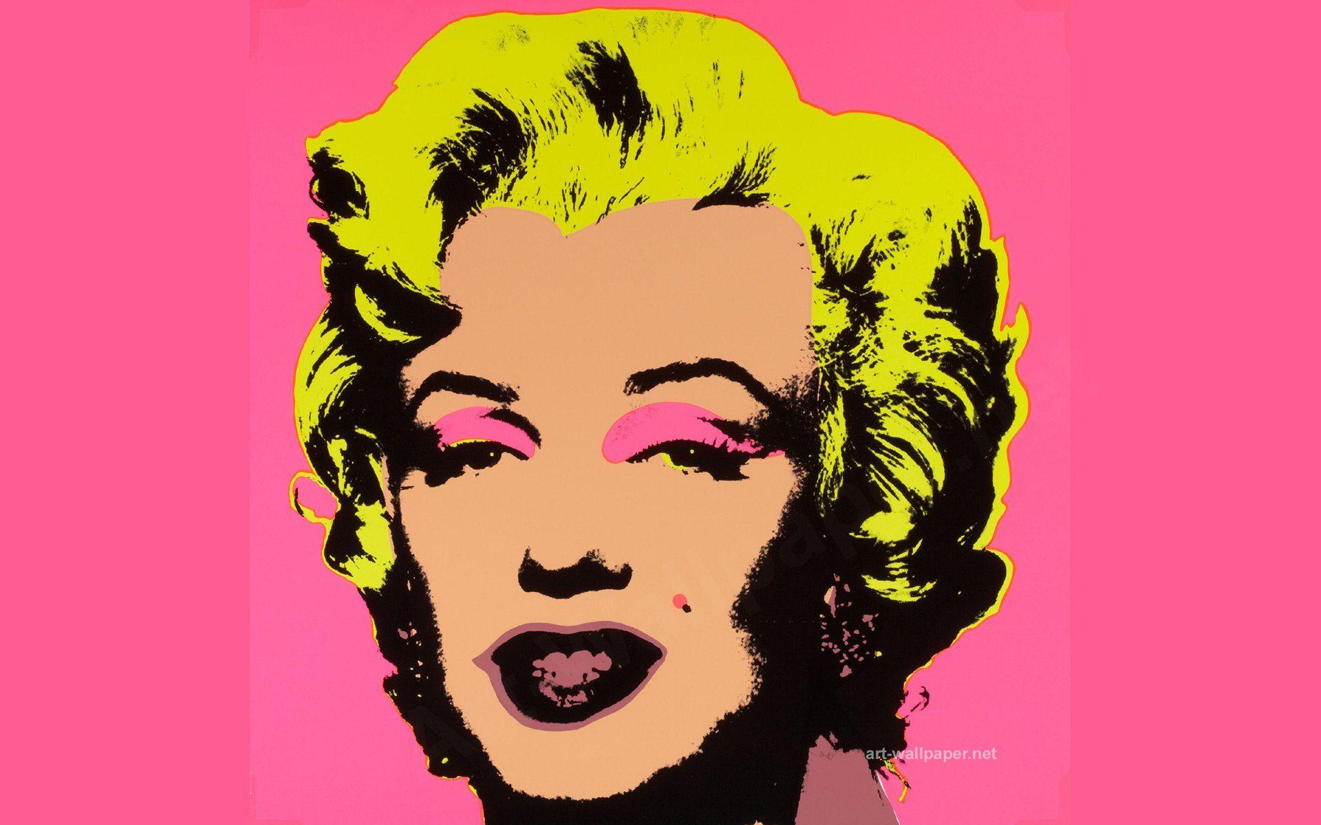 Marilyn Pop Art Andy Warhol Andy Warhol Wallpapers Wallpaper Cave