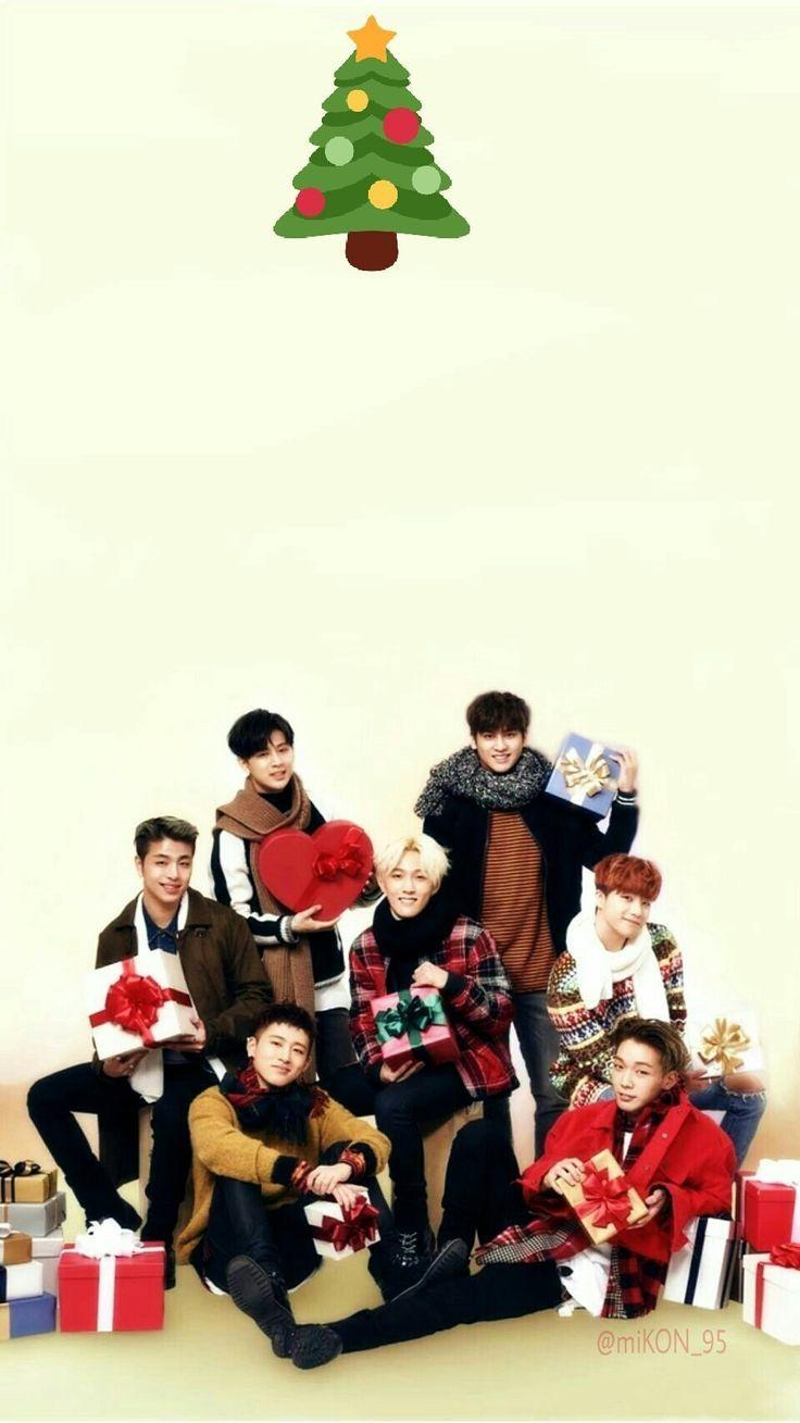 Xmas Wallpaper Iphone Ikon Wallpapers Wallpaper Cave