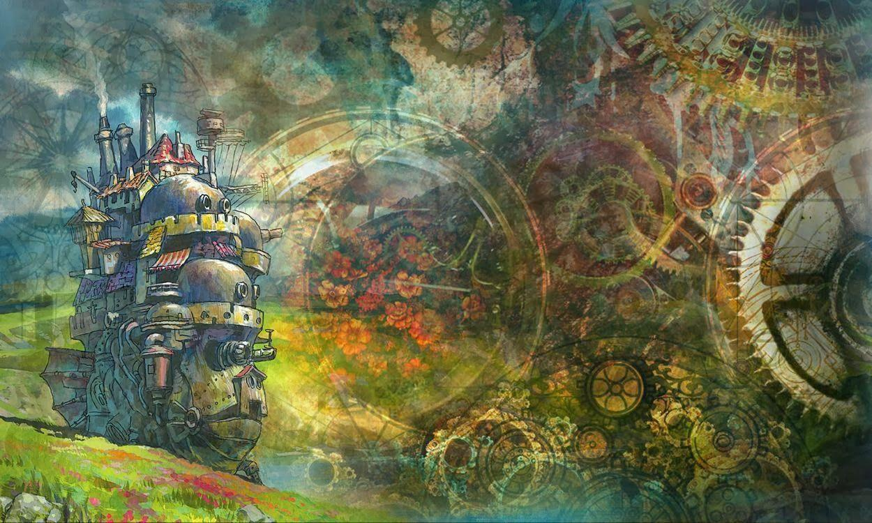 Howls Moving Castle Hd Wallpaper Howl S Moving Castle Wallpapers Wallpaper Cave