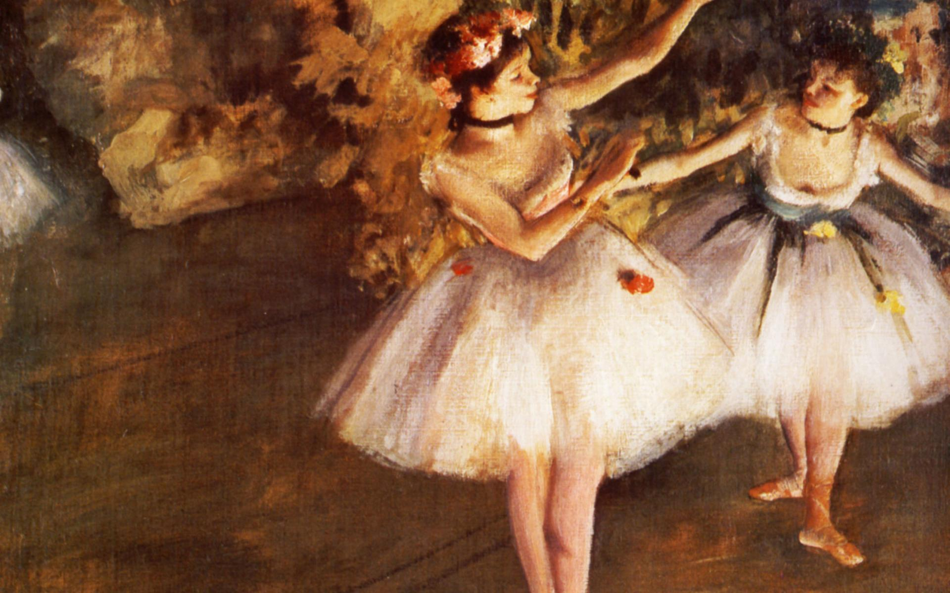 Cuadros Al Oleo De Bailarinas Edgar Degas Wallpapers Wallpaper Cave