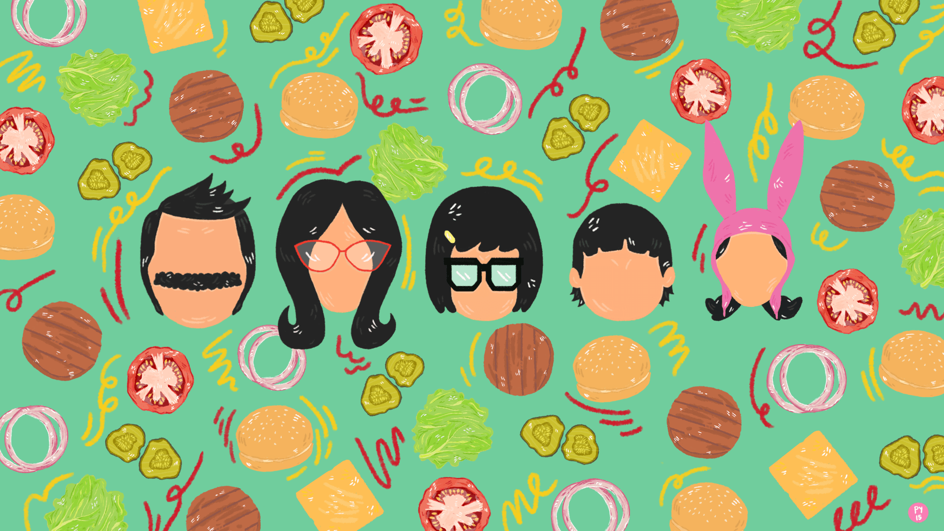 Gravity Falls Minimalist Wallpaper Bob S Burgers Wallpapers Wallpaper Cave