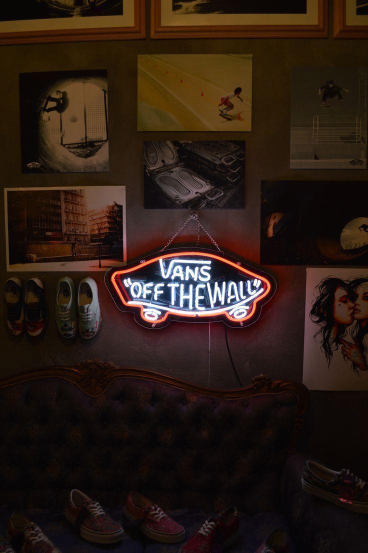 Neon Sign Iphone Wallpaper Vans Logo Wallpapers Wallpaper Cave