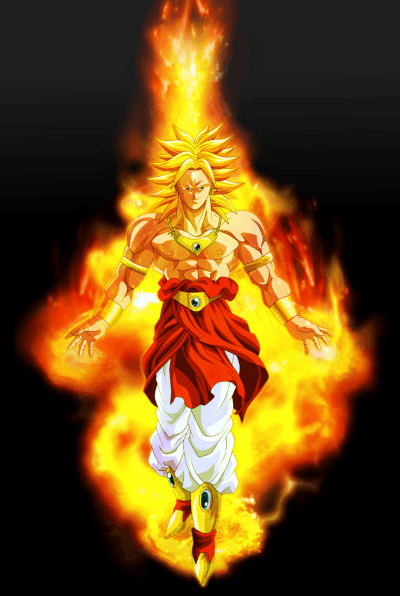 SSJ4 Broly Wallpapers - Wallpaper Cave