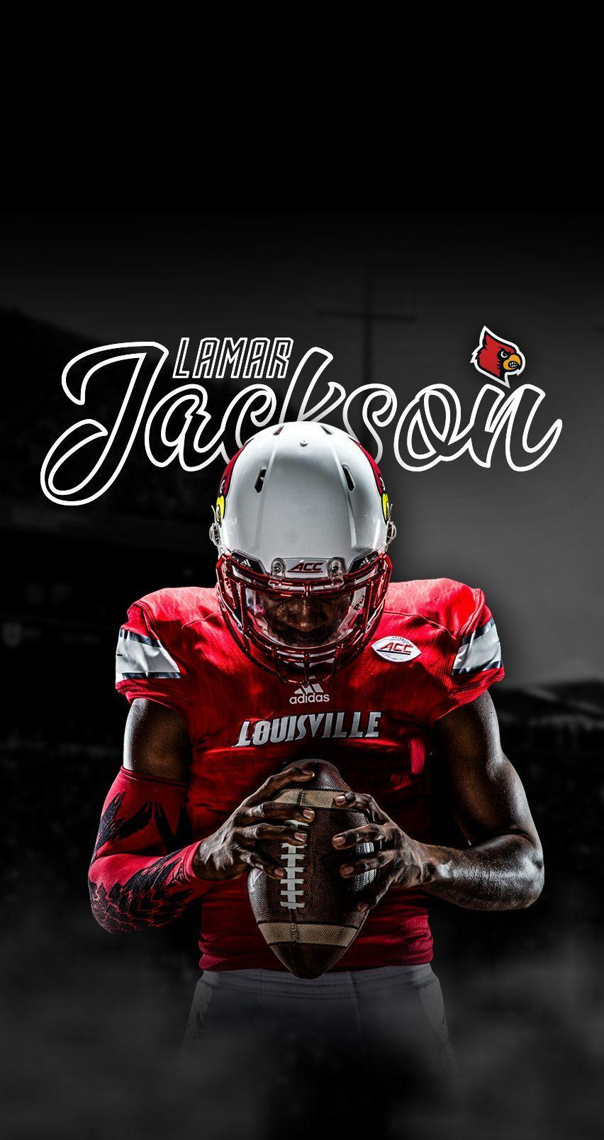 Wallpaper Louisville Lamar Jackson Wallpapers Wallpaper Cave