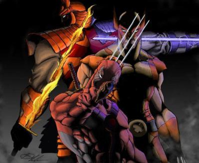 Wolverine Vs Deadpool Wallpapers - Wallpaper Cave