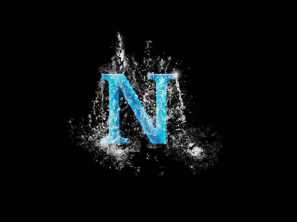 letter n wallpaper cover