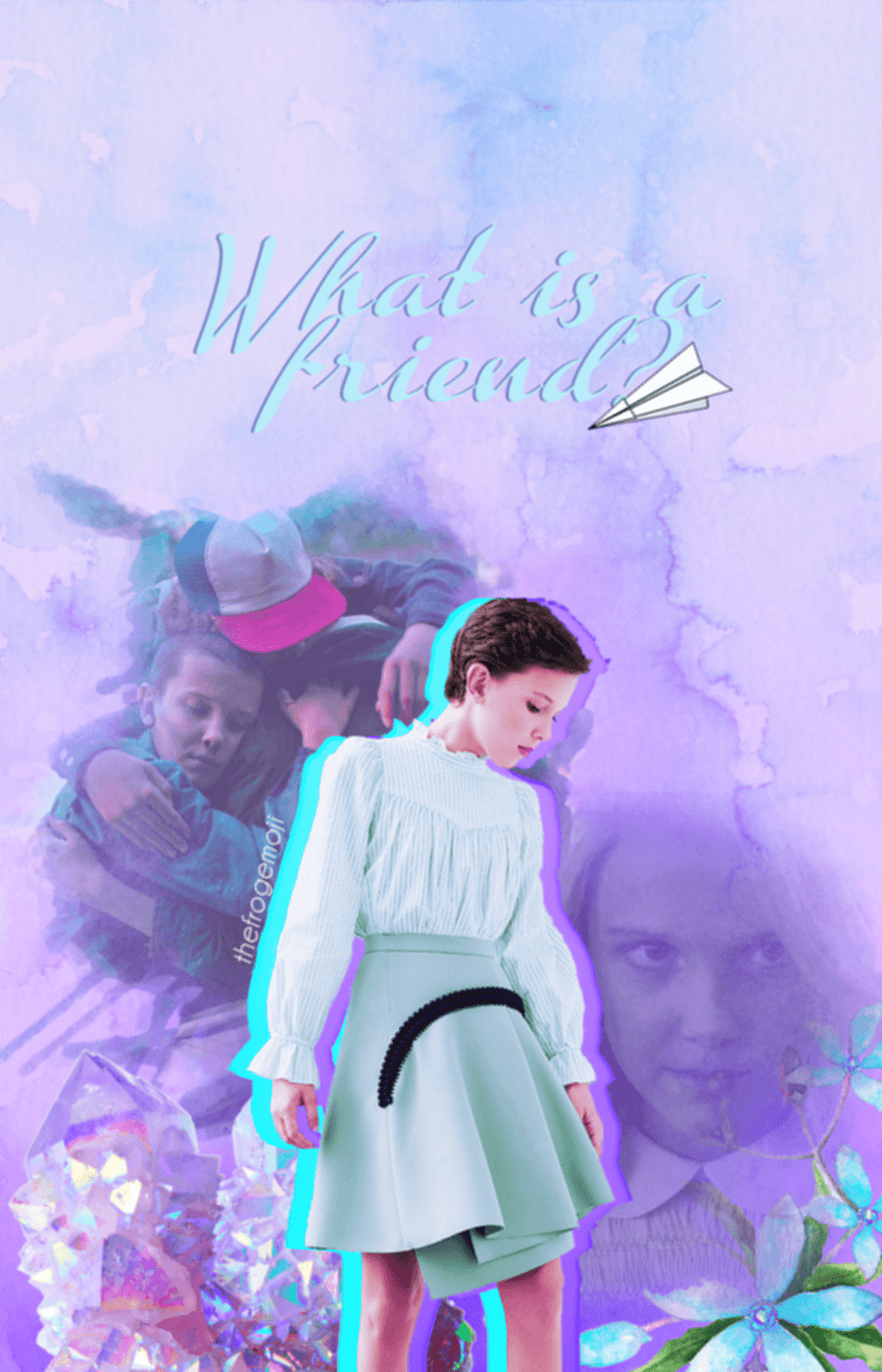 Cute Wallpapers Aesthetic Millie Bobby Brown Wallpapers Wallpaper Cave