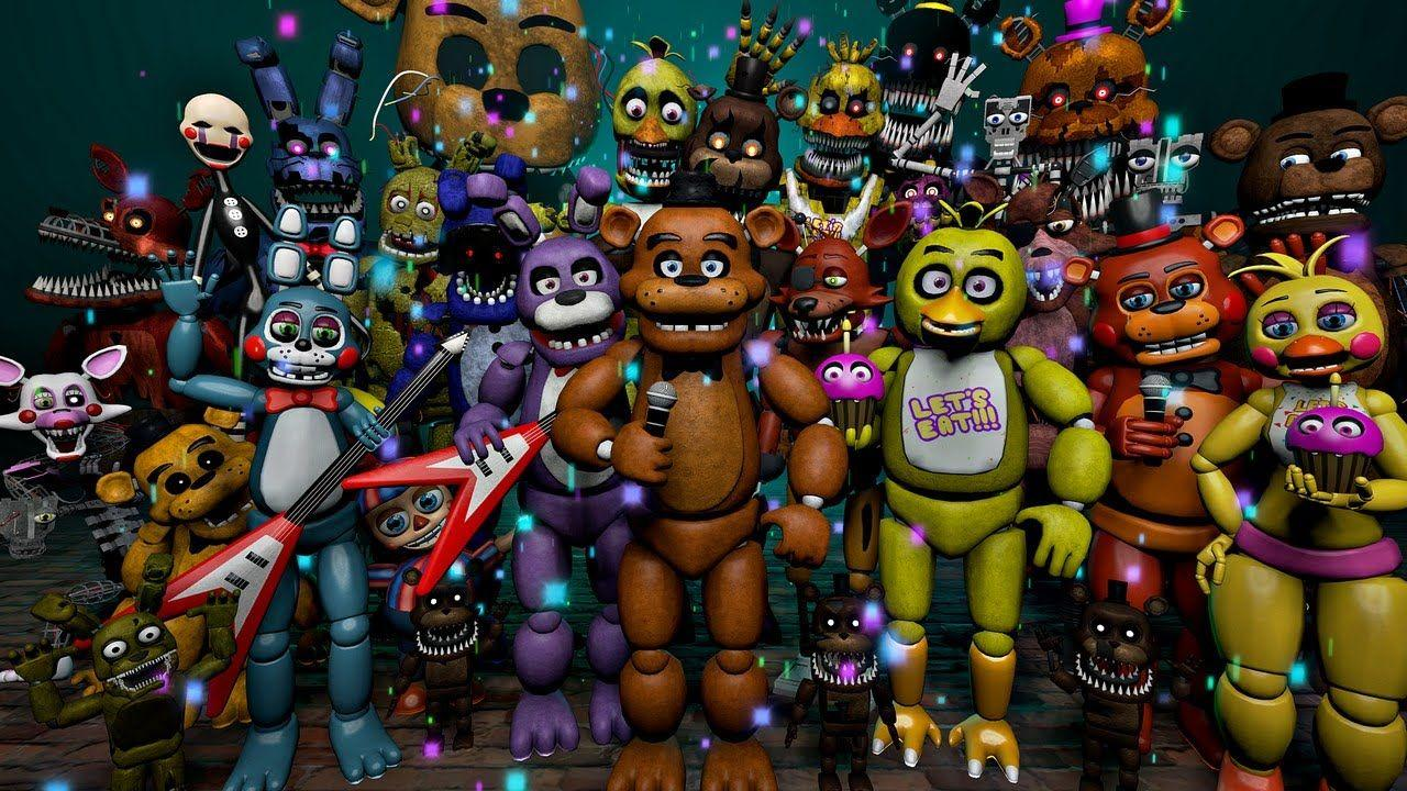 2048 Fnaf All About Do You Know All The Fnaf Characters Test Kidskunst Info