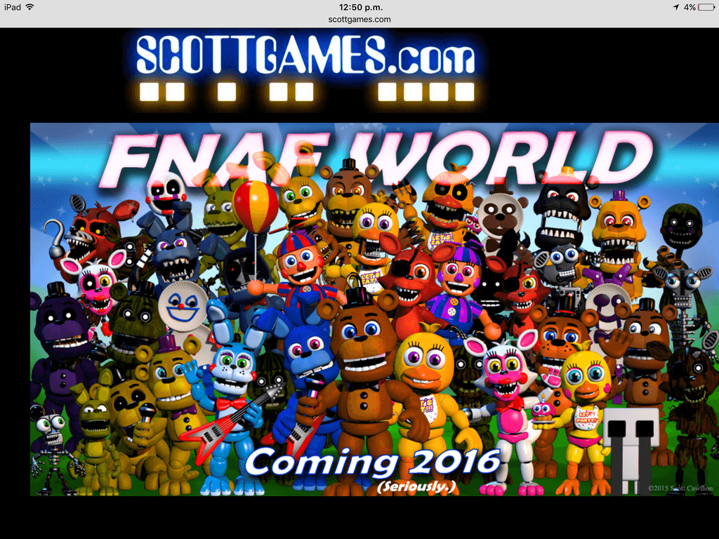 2048 Fnaf Fnaf World Wallpapers Wallpaper Cave