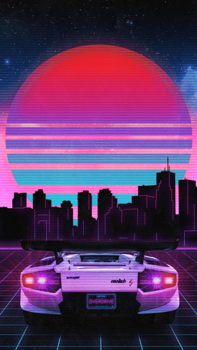 RetroWave Wallpapers - Wallpaper Cave